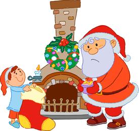 9 Vector Santa Claus