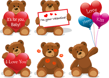 Love For Teddy Bear Clip Art