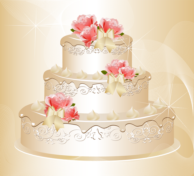 Charm Of The Bride Wedding Elements 03 Vector