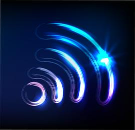 Sinfonía de la luz de gráficos vectoriales