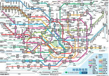 Subway Mapa de ruta operaciones vectoriales Tokio