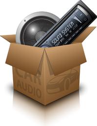 Car Audio Vector 4
