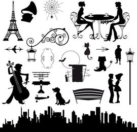 Vector de City Street Theme