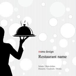 Vetor de menu ocidental 3
