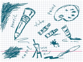 Ferramentas manuais para desenho vetorial
