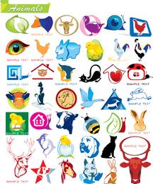 Algunos en gráficos vectoriales de animales
