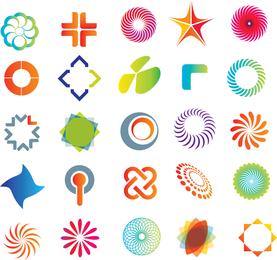 Plantilla de logotipo práctico de gráficos vectoriales