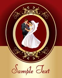 Europeanstyle Lace Casamento Casamento Clip Art