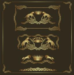 European Heraldry 03 Vector