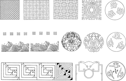 Chinese Classical Tradition Of Twelve Vector