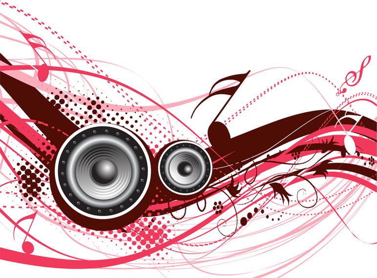 5 Dynamic Musical Elements Vector The Trend