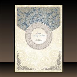 Classic Book Cover Design 02 Vector