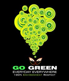 Resumo vai a ilustração verde