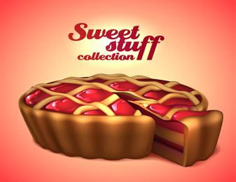 Exquisite Desserts 04 Vector
