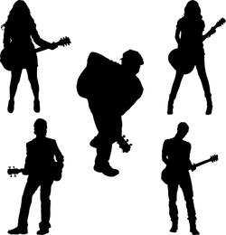 Tema musical del vector