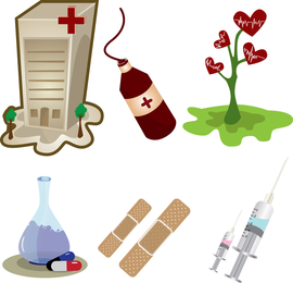 Pacote de vetores médicos grátis
