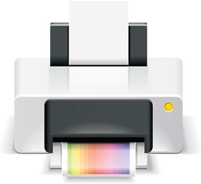 Vetor de impressora