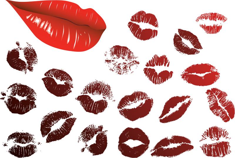 Vector Lip Prints