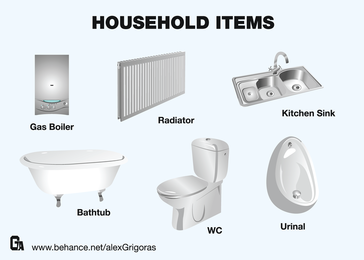 Awesome Household Items Collection