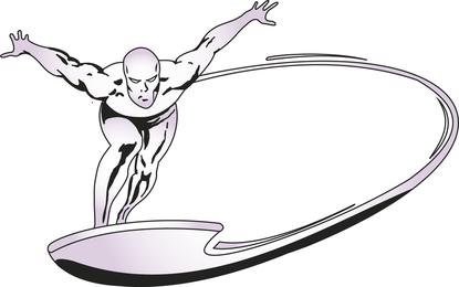 Marvel Silversurfer vectorial
