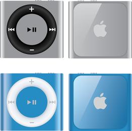 Vector libre de iPod Shuffle