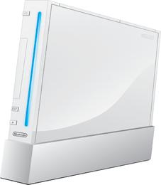 Nintendo Wii libres del vector