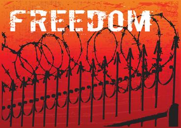 Arte de vetor de liberdade