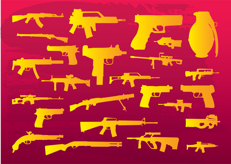 Weapons Clip Art