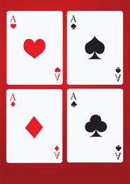 Cartas de juego de poker