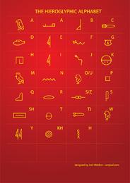 Escrita hieroglífica egípcia