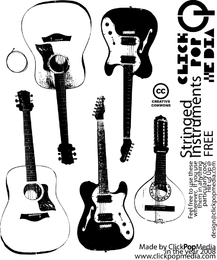 Stringed Insturment Vectors Pack