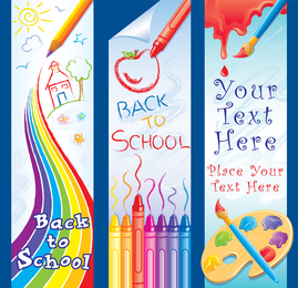 Free Vector Graphics O School Set