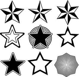 Random Free Vectors O Part 13 Stars