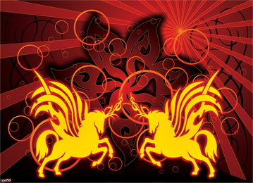 Vector Graphics grátis Cavalo