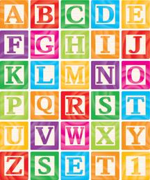 Las letras creativas diseñadas 11 Vector