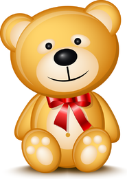 Teddy Bear 01 Vector
