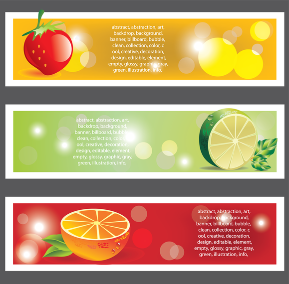 Trend Bookmark Card 04 Vector