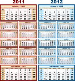 Beautiful Calendar 20112012
