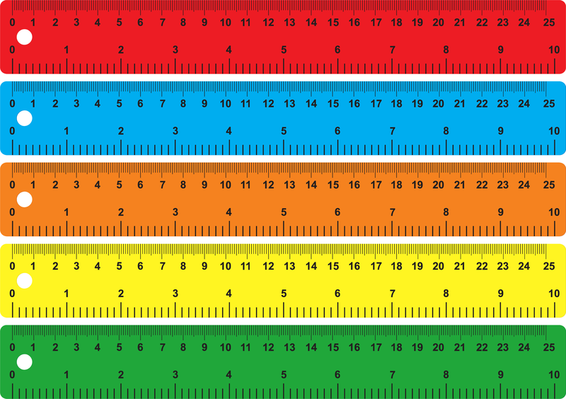 Color Of The Ruler Vector