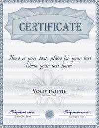 Herrlicher Diplom-Zertifikatvorlage 01