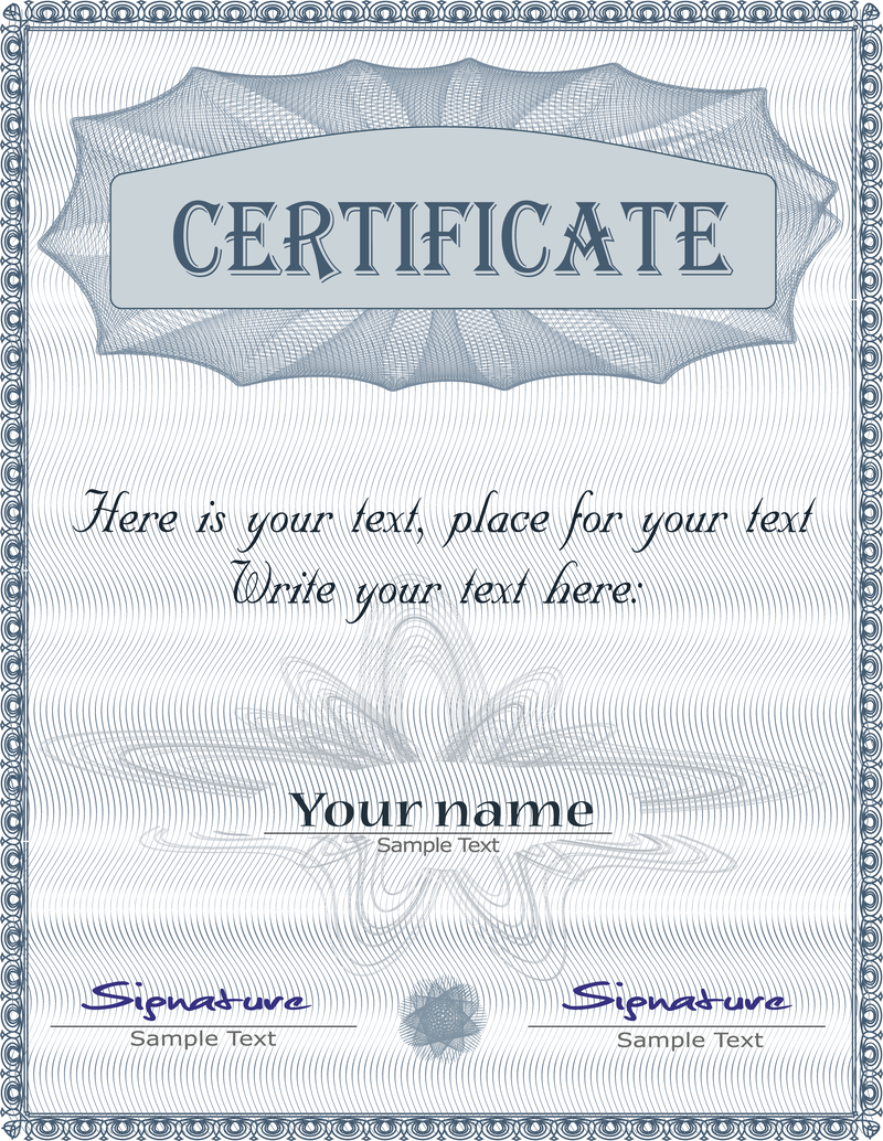 Gorgeous diploma certificate template 01 vector vector download gorgeous diploma certificate template 01 vector download large image 800x1034px xflitez Gallery