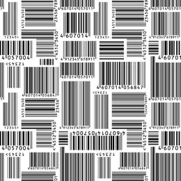 Vector de código de barras
