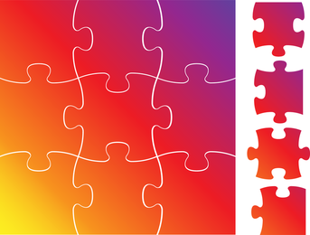 Brillante Puzzle 03 Vector