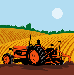 Farming Illustrator Vector