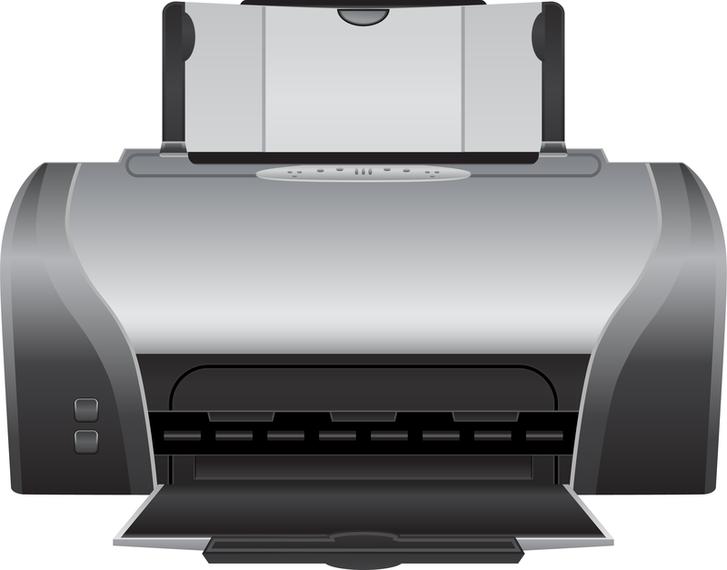 Impresora 03 Vector