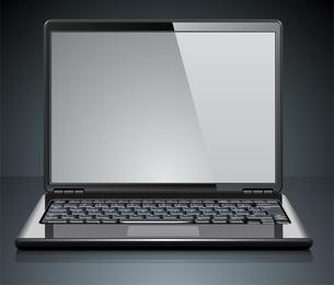 Ordenadores portátiles y monitores lcd vectoriales