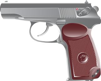 Vetor de pistola