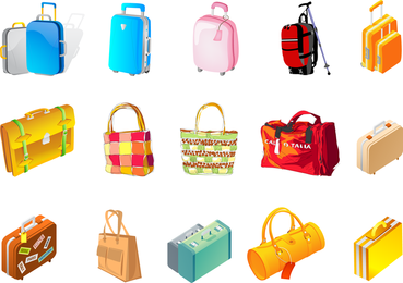 Vector Of The Box Bag
