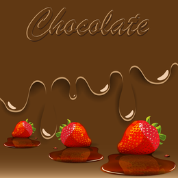 Sweet Strawberry Jam 02 Vector