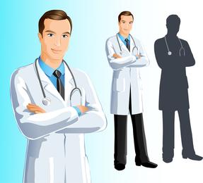 Doctores vector